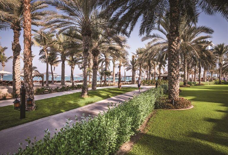 Záhrada hotela Madinat Jumeirah Al Naseem