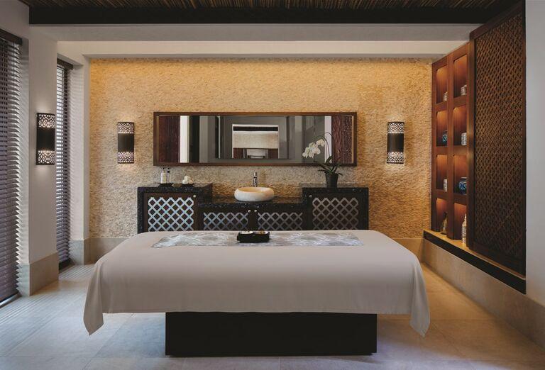 Masérska miestnosť v hoteli Madinat Jumeirah Al Naseem