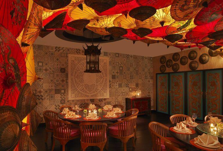 Stolovanie v hoteli Anantara The Palm Dubai Resort