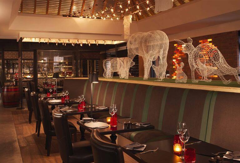Reštaurácia hotela Anantara The Palm Dubai Resort