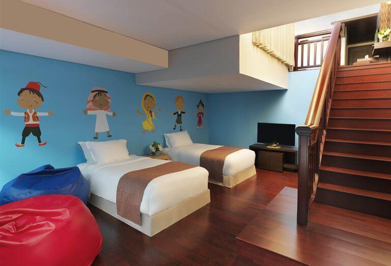 Rodinná izba v hoteli Anantara The Palm Dubai Resort