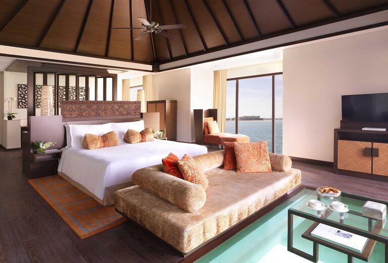 Izba s výhľadom na more v hotel Anantara The Palm Dubai Resort