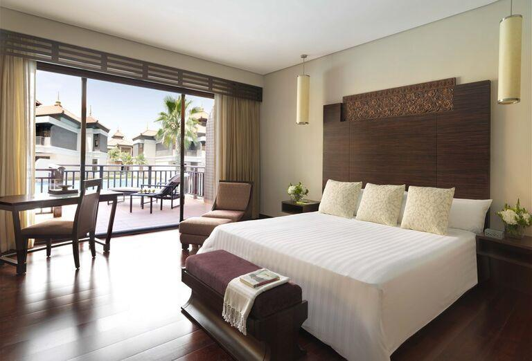 Izba s výhľadom na hotel Anantara The Palm Dubai Resort