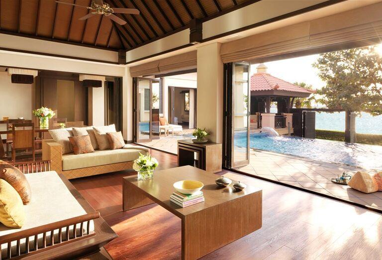 Ubytovanie s vlastným bazénom v hoteli Anantara The Palm Dubai Resort