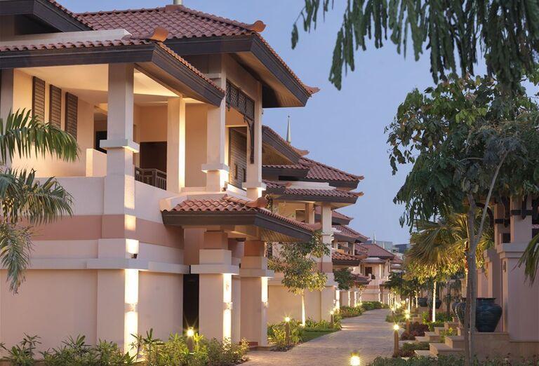 Pohľad na hotel Anantara The Palm Dubai Resort