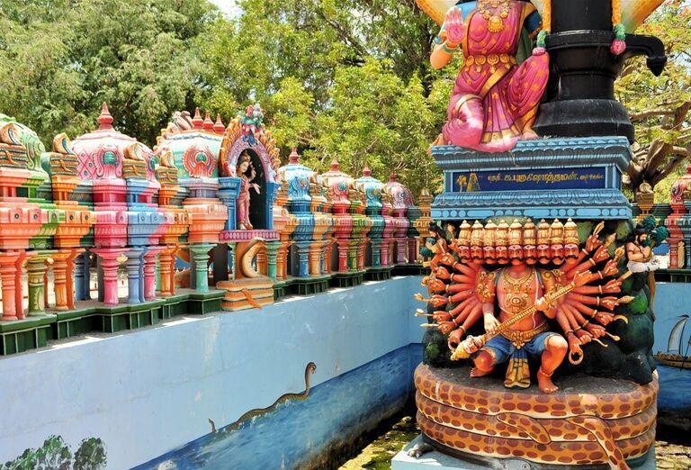 Srí Lanka - architektúra a pamiatky