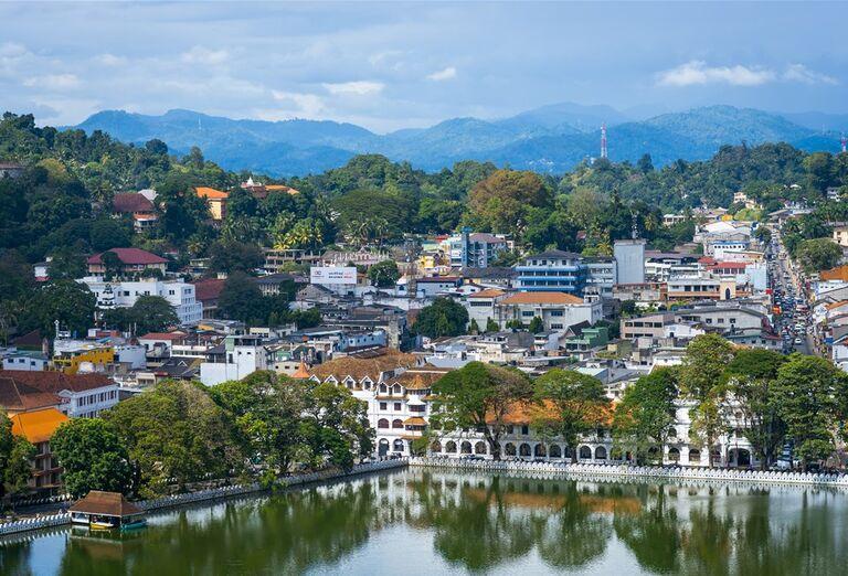 Srí Lanka - pohľad na mesto