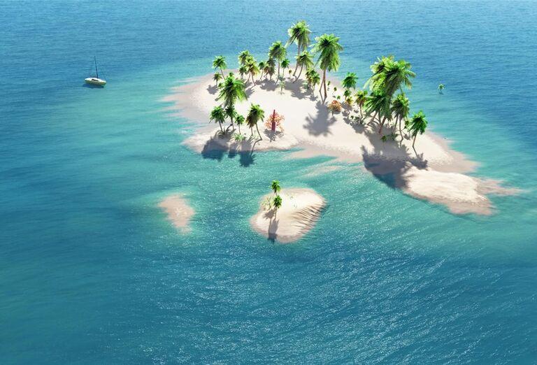Ostrovy v mori