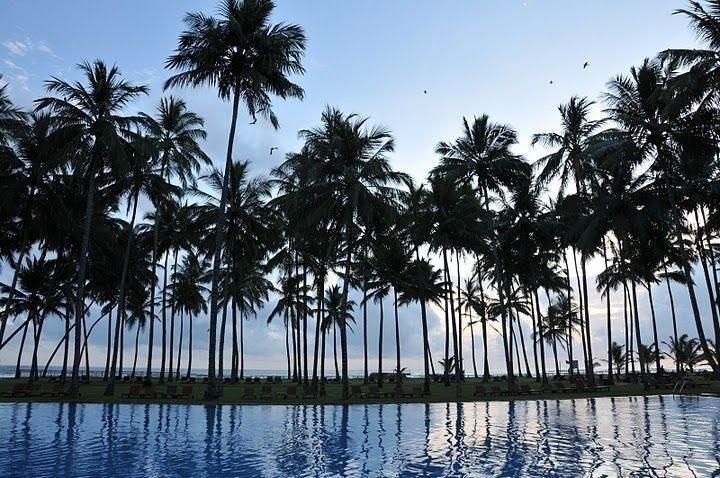 Hotel The Blue Water - bazén a pohľad na okolie