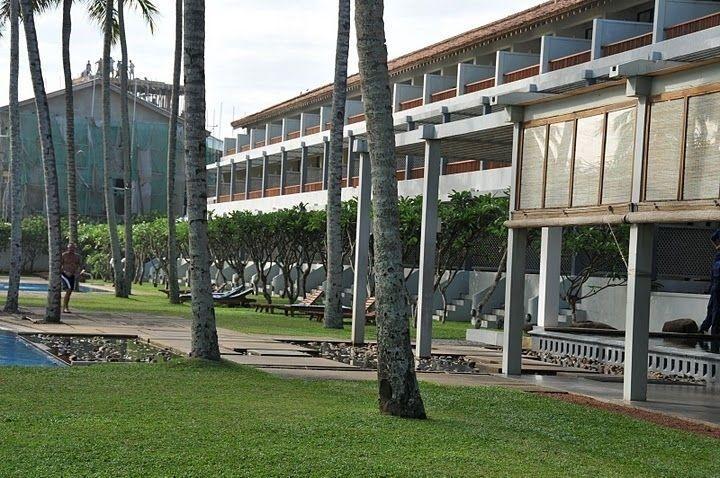 Pohľad na časť hotela The Blue Water