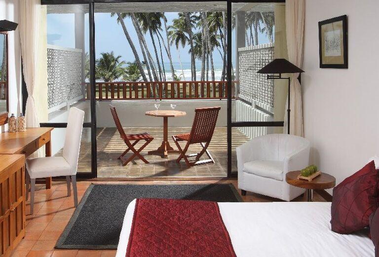 Izba s výhľadom na more v hoteli The Blue Water
