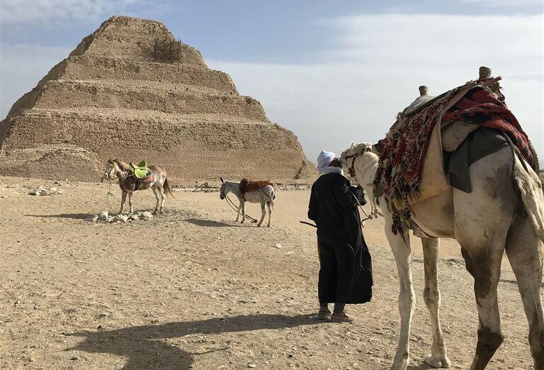 Egypt - architektúra a pamiatky - pyramída