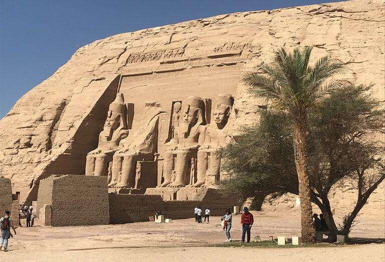 Egypt - architektúra a pamiatky
