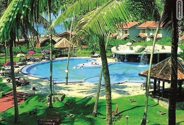Hotel Siddhalepa Ayurveda Health Resort - Areál hotela