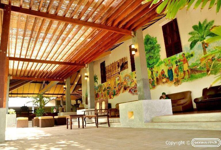 Hotel Siddhalepa Ayurveda Health Resort - terasa