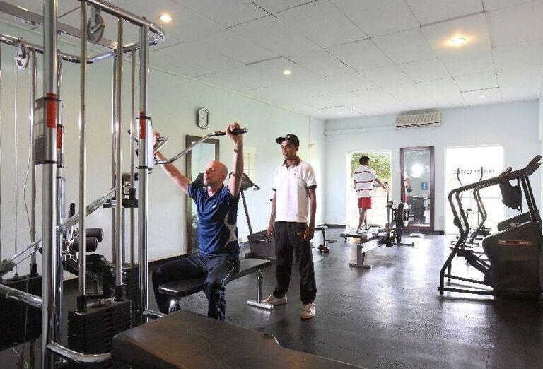 Fitnes v hoteli Club Palm Bay