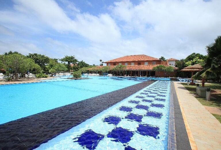 Pohľad na bazén hotela Club Palm Bay
