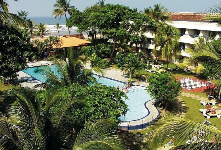 Areál hotela Club Palm Bay