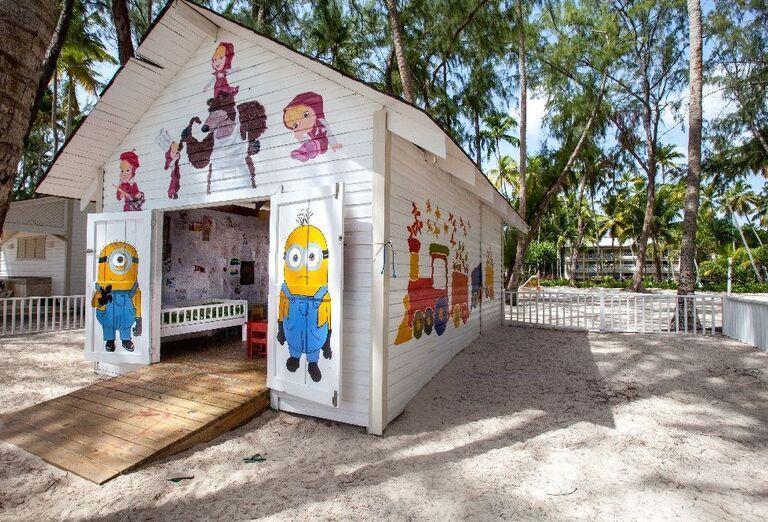 Detský klub v hoteli Vista Sol Punta Cana