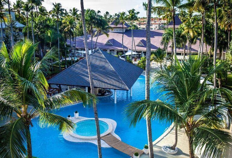 Komplex bazénov v hoteli Vista Sol Punta Cana
