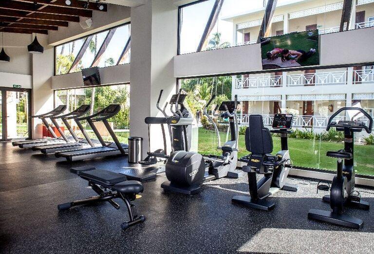 Fitnes hotela Vista Sol Punta Cana