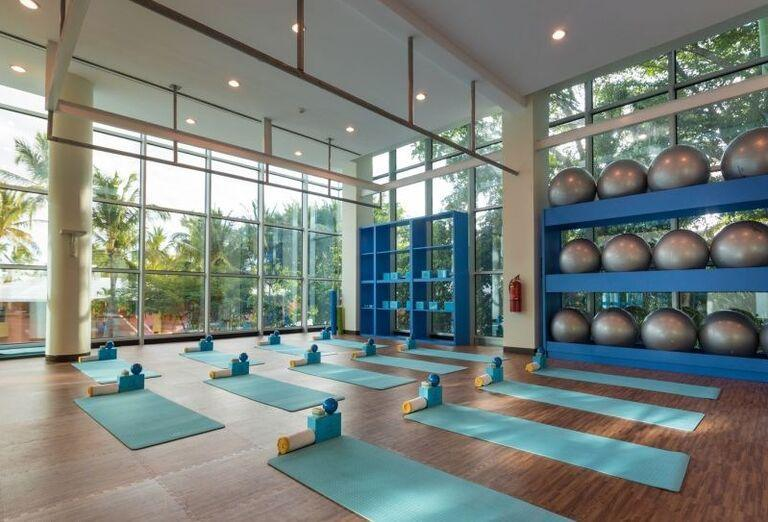 Fitnes v hoteli Iberostar Bavaro Suites