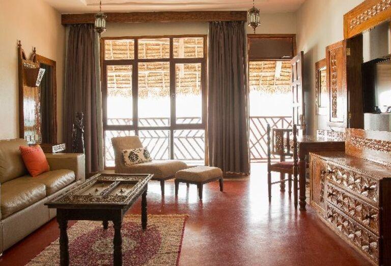Interiér hotela Doubletree by Hilton Resort Nungwi