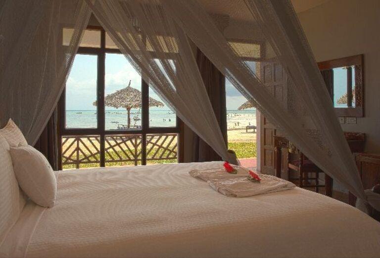 Izba s výhľadom na more v hoteli Doubletree by Hilton Resort Nungwi