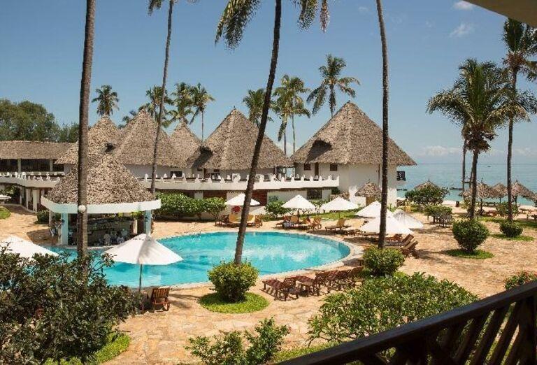 Areál hotela Doubletree by Hilton Resort Nungwi