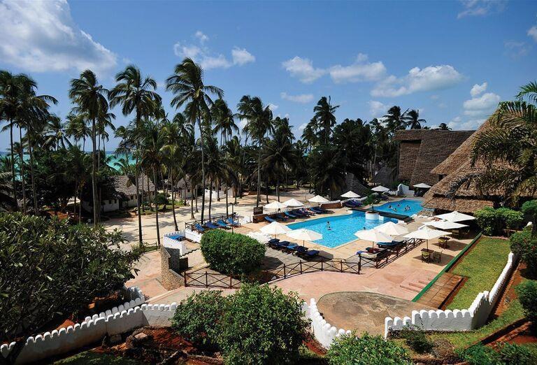 Hotel Diamonds Mapenzi Beach - Areál hotela