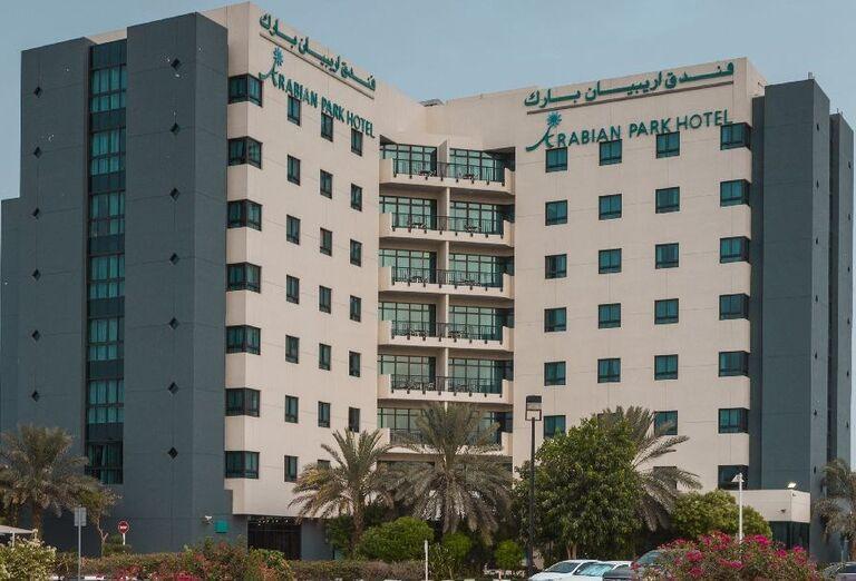 Pohľad na hotel Arabian Park