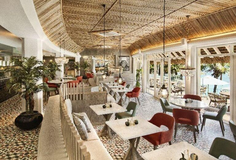 Reštaurácia v hoteli LUX* Grand Gaube