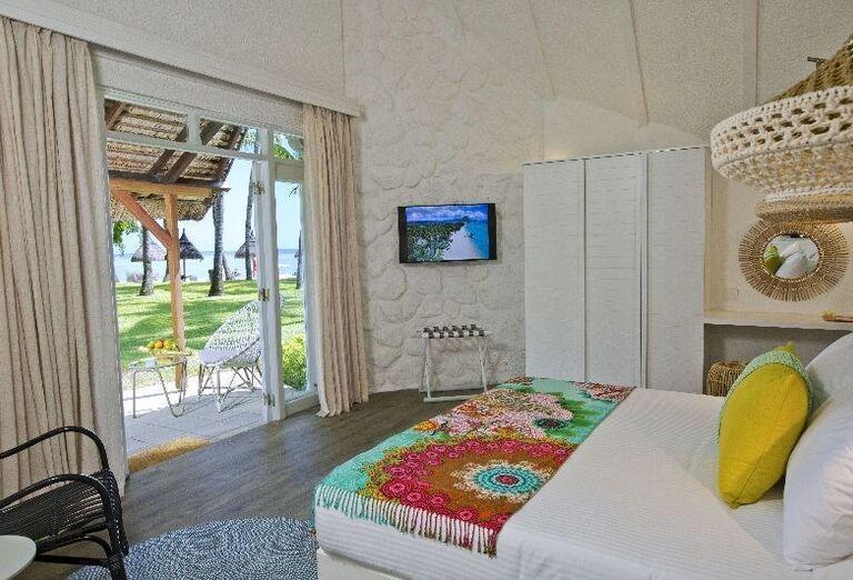 Izba s výhľadom na záhradu hotela La Pirogue - A Sun Resort Mauritius