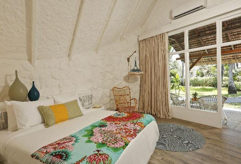 Izba s terasou v hoteli La Pirogue - A Sun Resort Mauritius