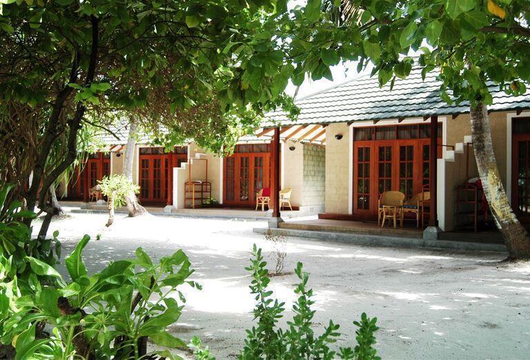 Vstup k ubytovaniu v hoteli Adaaran Select Meedhupparu