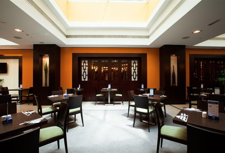 Reštaurácia v Hoteli City Max Bur Dubai.