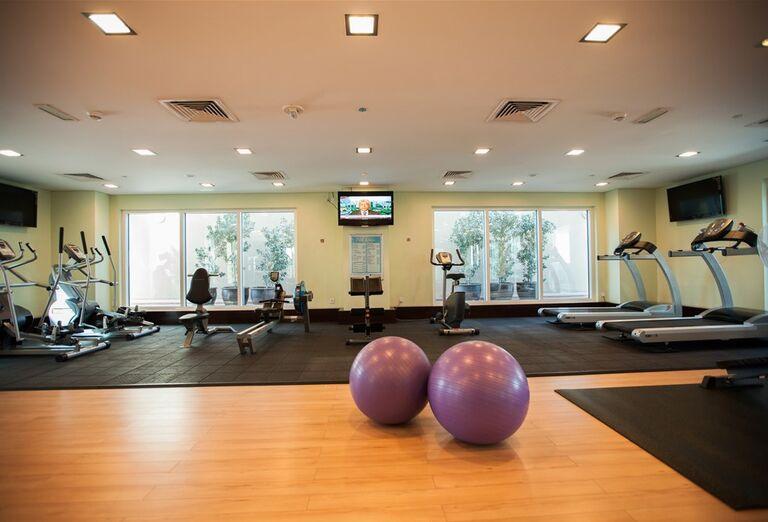 Fitness v hoteli City Max Al Barsha at the Mall