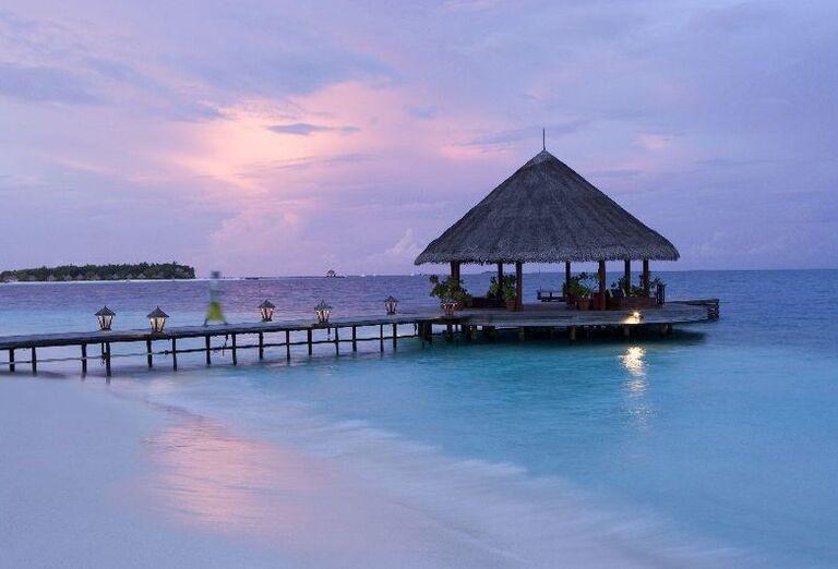 Hotelový Resort Angsana Ihuru -  Altánok na mori