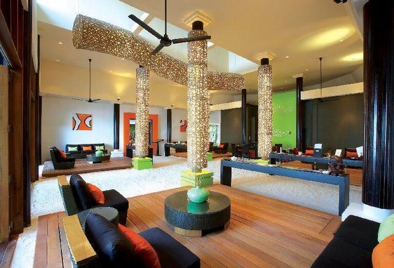 Hotelový Resort Angsana Resort Spa Velavaru - Posedenie