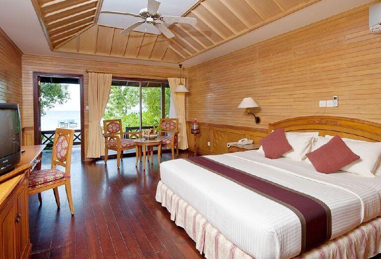 Izba s výhľadom na more v rezorte Royal Island Resort & Spa
