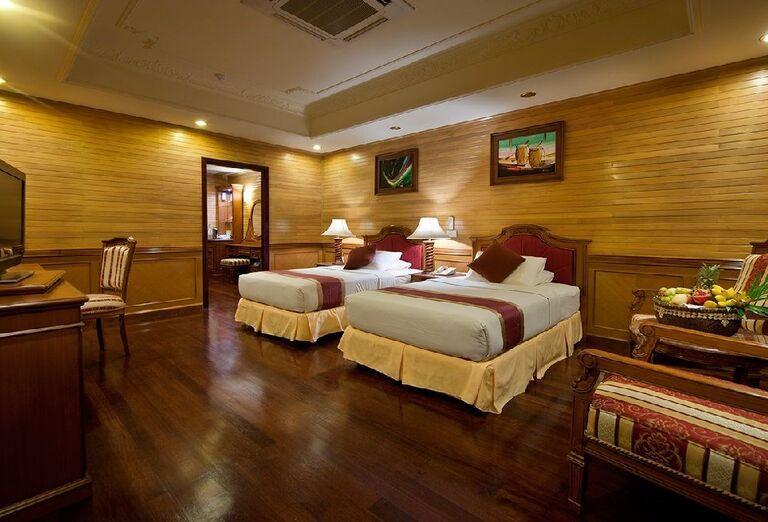Izba s oddelenými lôžkami v rezorte Royal Island Resort & Spa