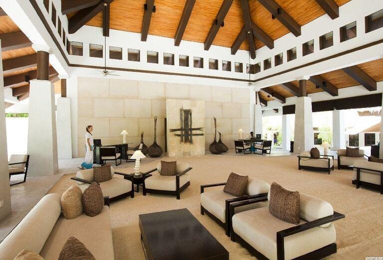 Interiér rezortu Velassaru Maldives