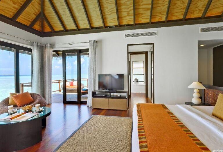 Komfortná izba v rezorte Velassaru Maldives