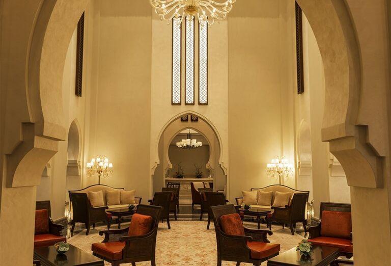 Hotel Ajman Saray - posedenie