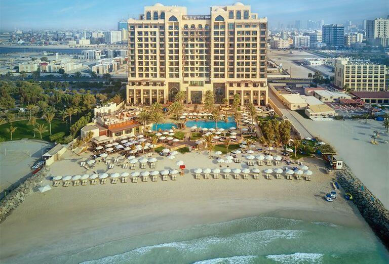 Hotel Ajman Saray - pohľad na hotelový komplex