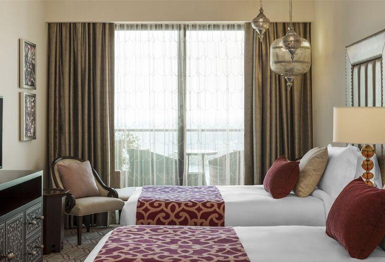Hotel Ajman Saray - Izba svýhľadom