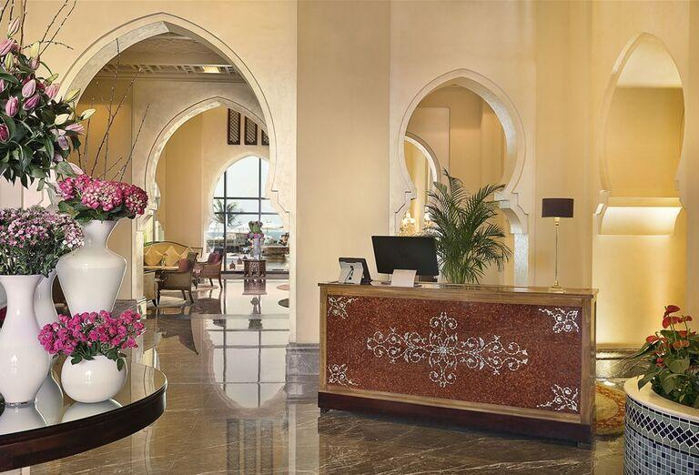 Hotel Ajman Saray - recepcia