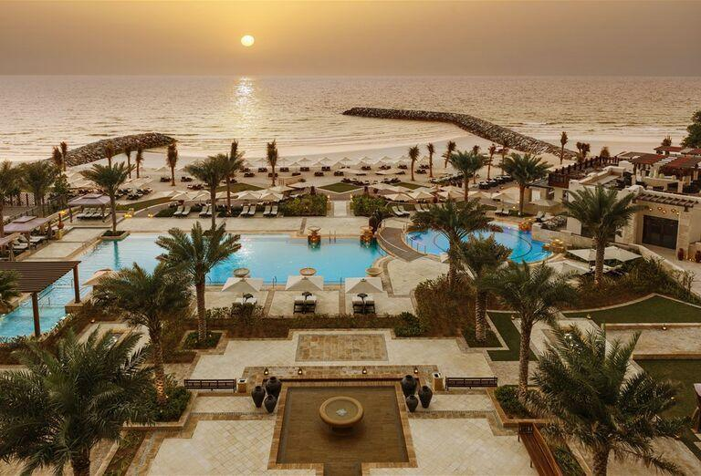 Hotel Ajman Saray - Areál hotela