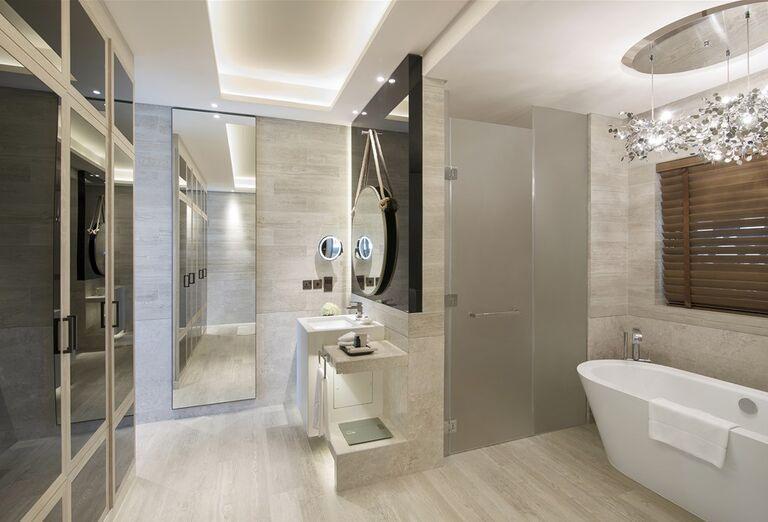 Kúpeľňa v hoteli Saadiyat Rotana Resort & Villas Abu Dhabi