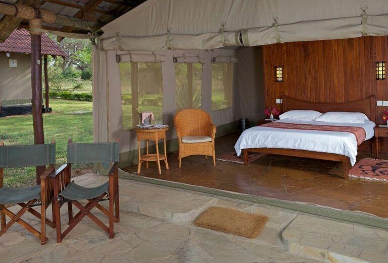 Keňa - Dokonale safari a oddych na bielej pláži - ubytovanie